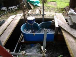 駒沢水力(縦軸簡易設置型)